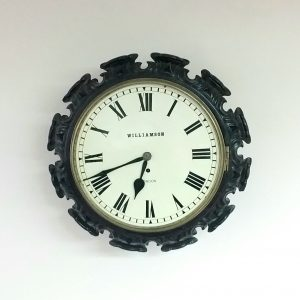 Antique Victorian Fusee Clock