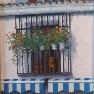 Oil on Canvas by Sean Conlon