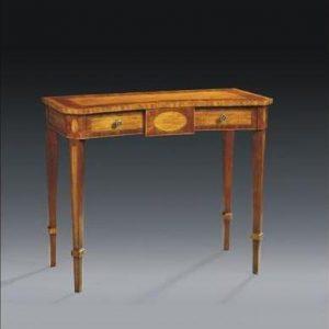 Antique Style Walnut Sidetable