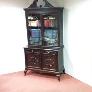 Ant edw mah 2 door bookcase