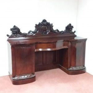 Antique Victorian Sideboard