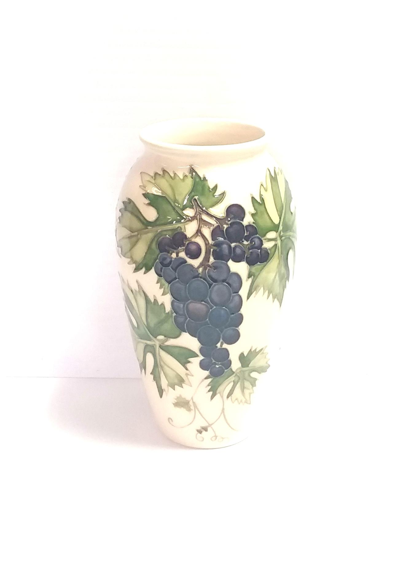 Moorecroft Grapes Vase