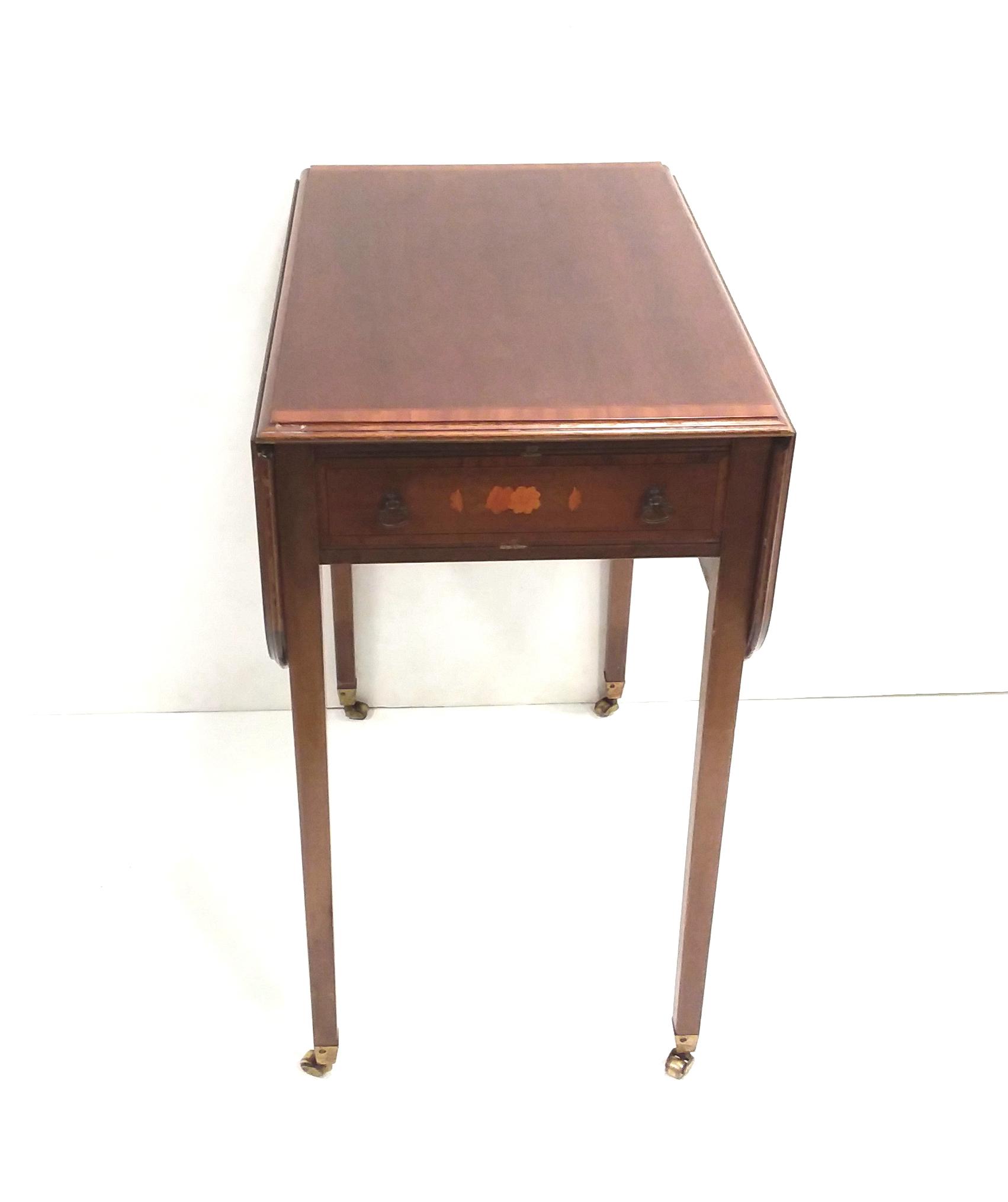 Antique_Edwardian_Miniature_Pembroke_Table