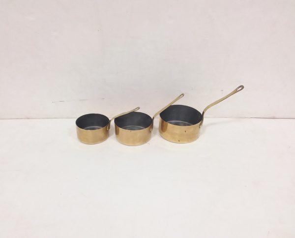 Set of Brass Pans