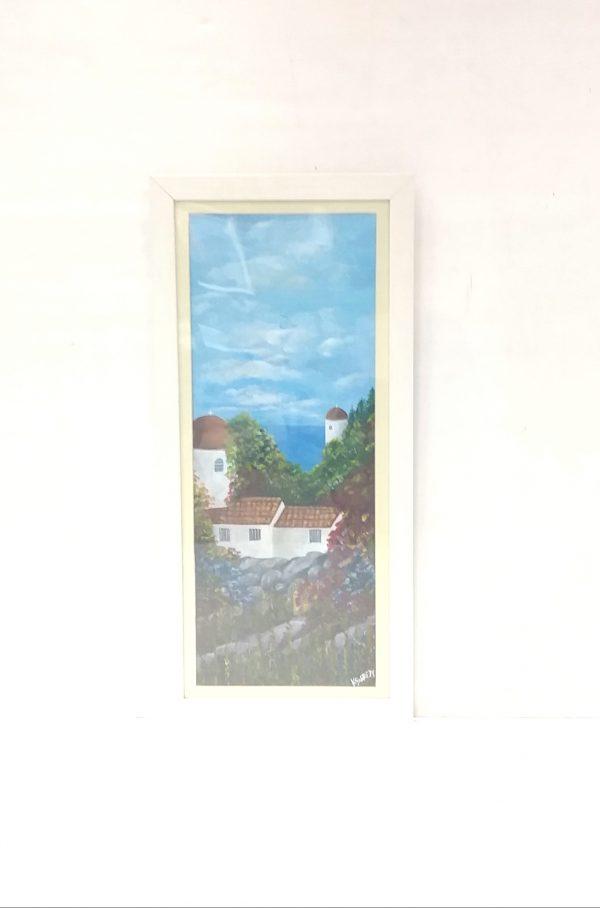Acrylic on Canvas by Kathleen Garrett