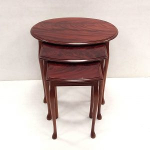 Antique Style Mahogany Nest of Tables
