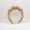 Antique 19th Century Gilt Oval Mirror