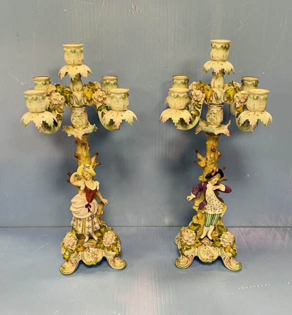 Pair Of Candleabras
